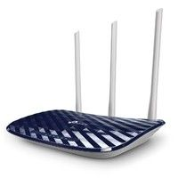 ROUTER INALAMBRICO TP-LINK ARCHER C20W WISP AC750 DUAL BAND 2.4GHZ A 300MBPS Y 5GHZ A 433MBPS 4 PUERTOS LAN 10/100 1 PUERTO WAN