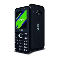 GHIA SMART FEATURE PHONE 3G/ KAIOS / 2.4 PULG / MEDIATEK MT6572 / DUALSIM / 512MB RAM / 4GB ROM/ WIFI / BT / NEGRO CON GRIS
